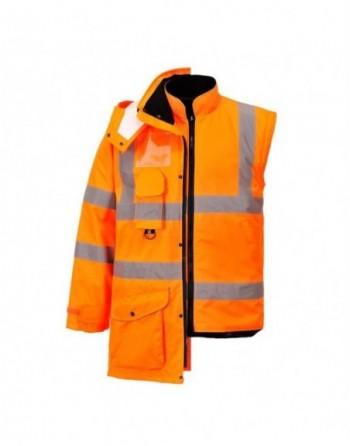 Kurtka ostrzegawcza 7w1 RT27 Portwest zimowa, plamoodporna, wodoodporna