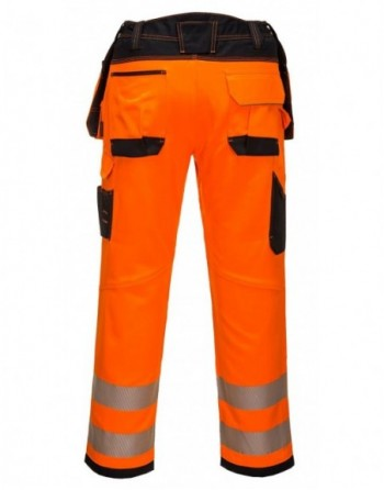 Spodnie robocze ostrzegawcze T501 Portwest plamoodporne Hi-Vis Vision