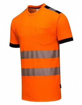 Koszulka T-Shirt ostrzegawcza PW3 Portwest T181