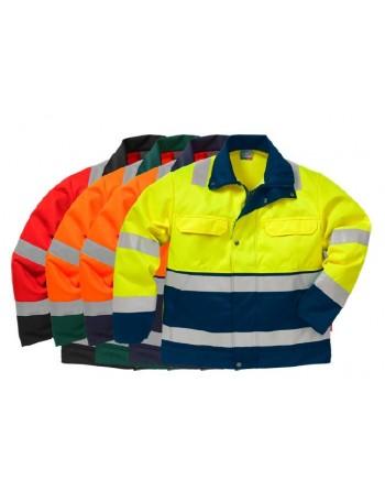 Mocna bluza robocza ostrzegawcza Hi-Vis 4794 TH Fristads Kansas 100001